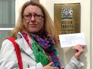 Caroline WILPF British Embassy