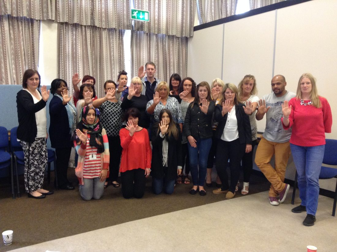 Walsall Freedom Programme Training September 2015 #NOMORE 2015