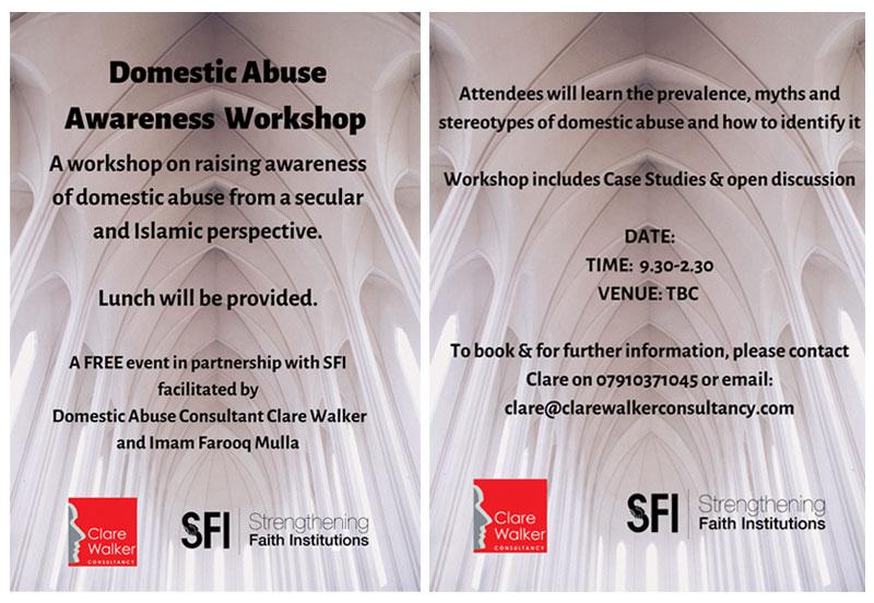 Domestic Abuse & Faith Workshops