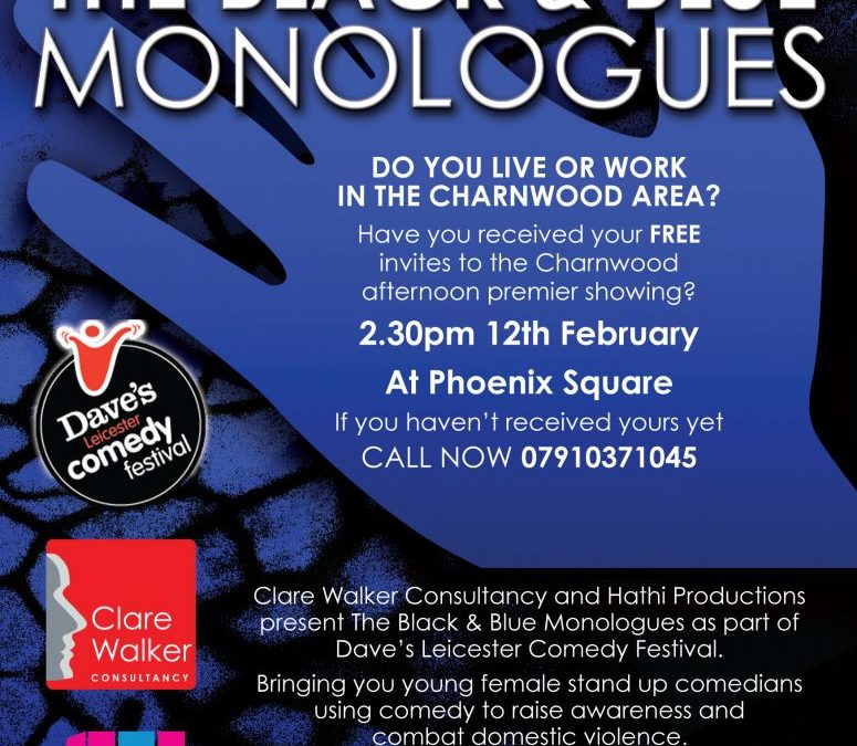 THE BLACK AND BLUE MONOLOGUES
